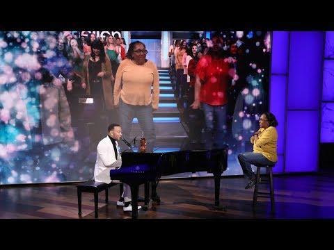 John Legend Serenades