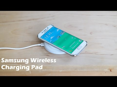 samsung galaxy s6 wireless charging pad review youtube. Black Bedroom Furniture Sets. Home Design Ideas