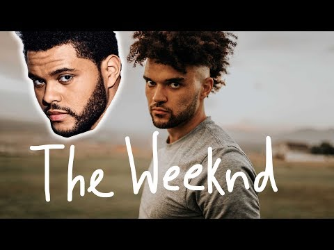 Haircut like the WEEKND