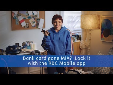 RBC Student Banking - 60 Mobile Reasons (Lock Your Bank Card)