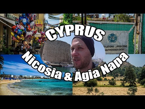 My Travel Diary - Cyprus Part II (Nicosia, UN Buffer Zone, Cliff Jumping, Agia Napa) 17/04/2018