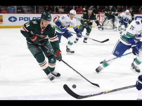 Vancouver Canucks vs Minnesota Wild - January 14, 2018 | Game Highlights | NHL 2017/18