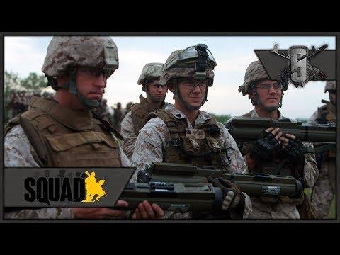M72 LAW vs Infantry - SQUAD - 40v40 US Light Anti-Tank Gameplay