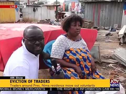 Eviction OF Traders - AM Show on JoyNews (15-3-18)