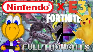 DID NINTENDO WIN E3? ll My Thoughts on Nintendo @ E3