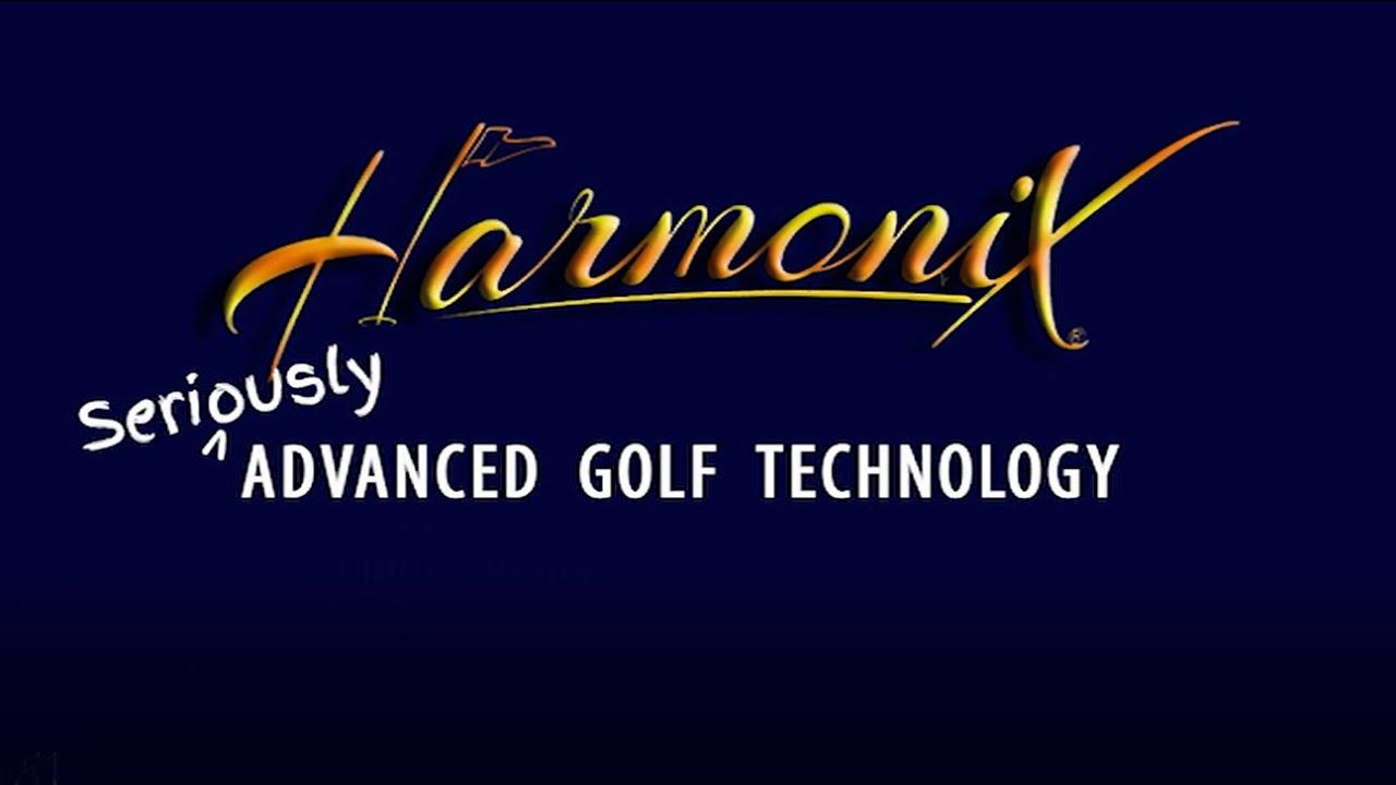 Harmonix Live Head Putter, Zero Backspin, Immediate Roll