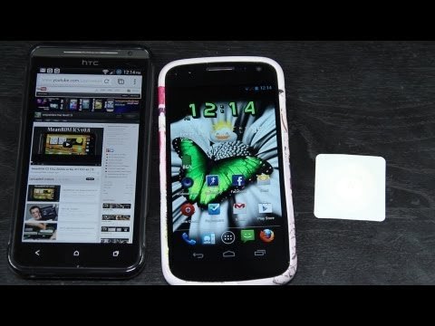 NFC Tags on the HTC Evo 4G LTE and Galaxy Nexus!