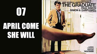 April Come She Will, Simon & Garfunkel, The Graduate