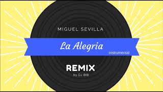 La Alegria - Miguel Sevilla, Remix instrumental by DJ BIB