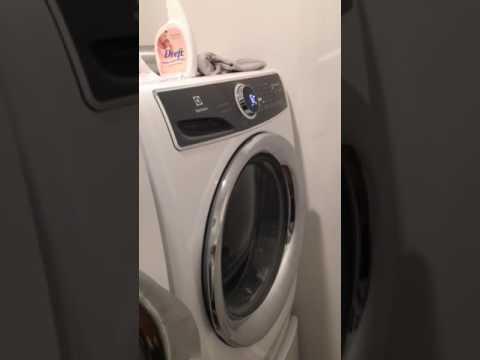 new electrolux washing machine