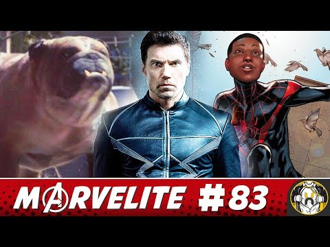 Inhumans Trailer Review & Miles Morales Animated Movie Teaser | Marvelite #83