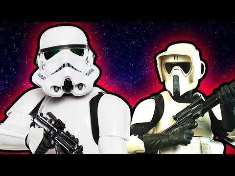 All Imperial Stormtrooper Types Explained | TGN Star Wars