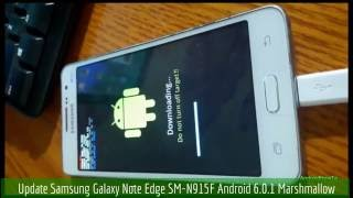 Update Samsung Galaxy Note Edge SM-N915F to Android 6.0.1 Marshmallow