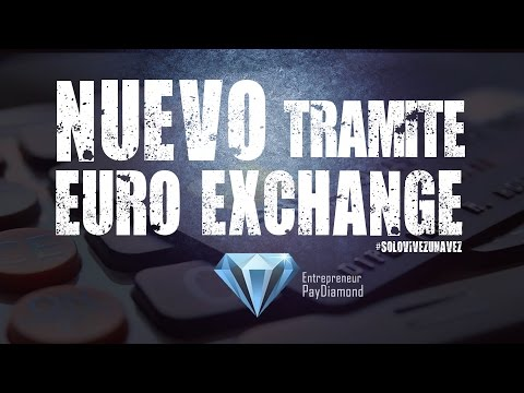 Nuevo Tramite Euro Exchange :: Pay Diamond