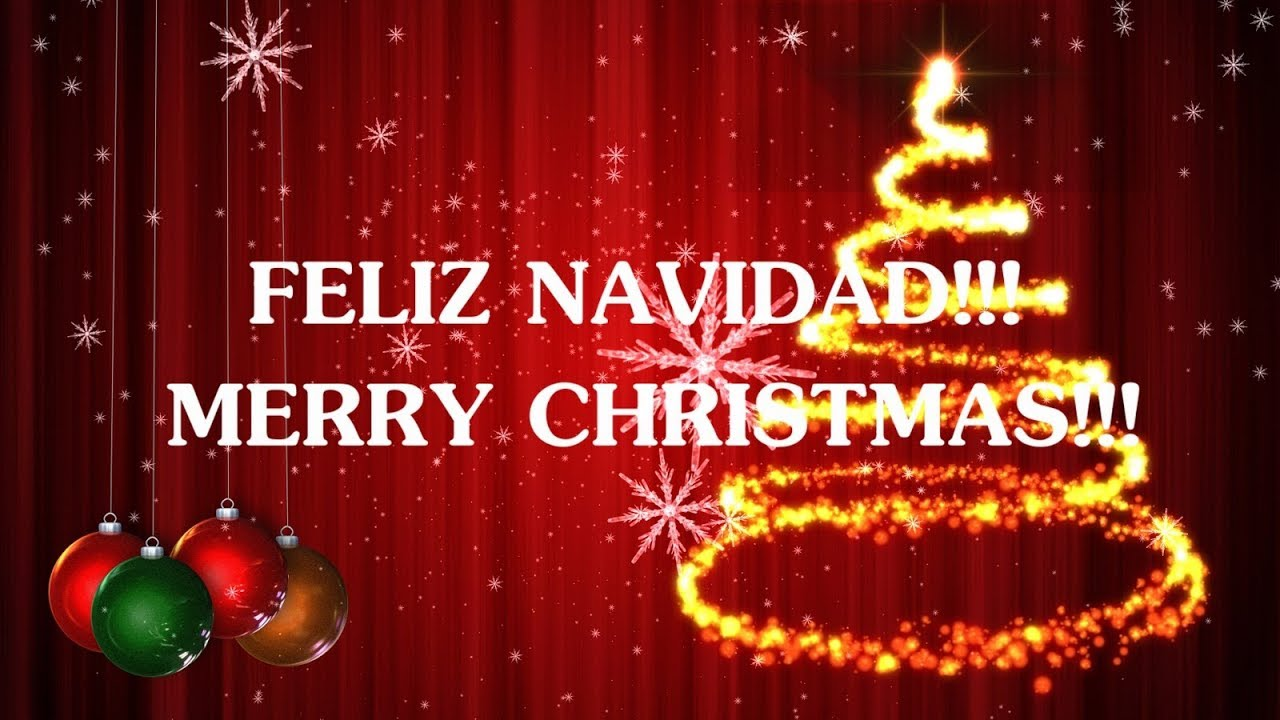 Feliz Navidad En Letras Dobles.We Wish You A Merry Christmas Lyrics Letra Feliz Navidad