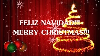We Wish You a Merry Christmas (lyrics-letra) - Feliz Navidad
