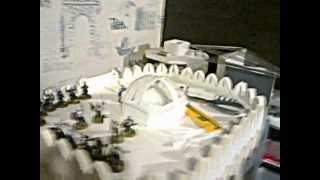 How To Build Minas Tirith 1/2 Минас Тирит 1/2