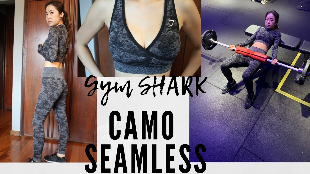 acc97aee1db7a Honest Gymshark camo seamless review - YouTube