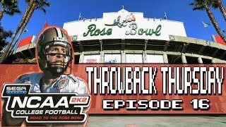 NCAA 2K2: Road to the Rose Bowl | Throwback Thursday (Sega Dreamcast)