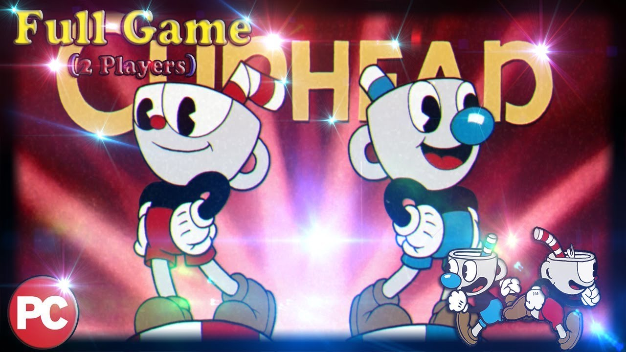Cuphead (FULL GAME) (Coop 2 Players) [All Missions] [No Commentary]