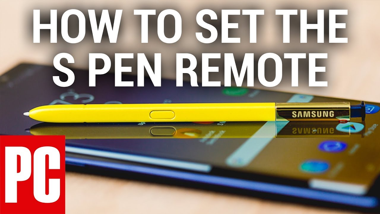 How to Set the S Pen Remote on the Samsung Galaxy Note 9