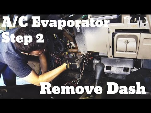 Part 2 Remove Dashboard Chevy Suburban A C Evaporator