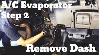 Part 2 - Remove Dashboard - Chevy Suburban A/C Evaporator