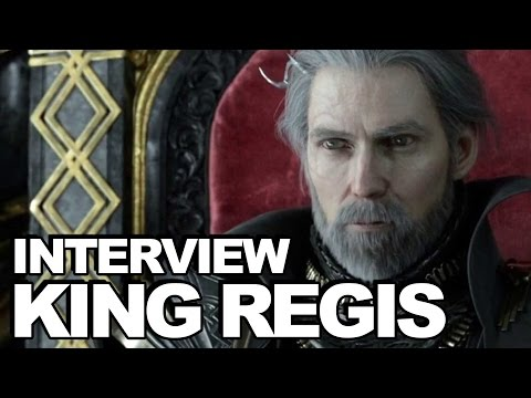 Final Fantasy XV Interview: Regis Lucis Caelum (Jon Campling)