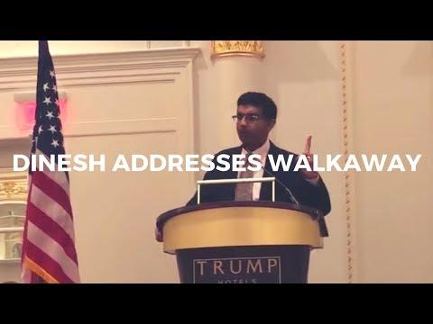 Dinesh D'Souza speaks at Trump International