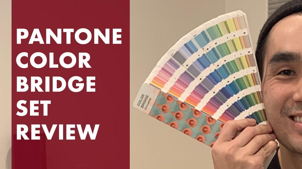 Pantone Color Bridge Set Coated \u0026 Uncoated Unboxing Review