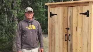How To Build A Wood Smokehouse Or Outdoor Closet