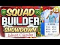 FIFA 18 SQUAD BUILDER SHOWDOWN!!! TOTGS DE BRUYNE!!! Advent Calendar Day 13 vs MattHDGamer