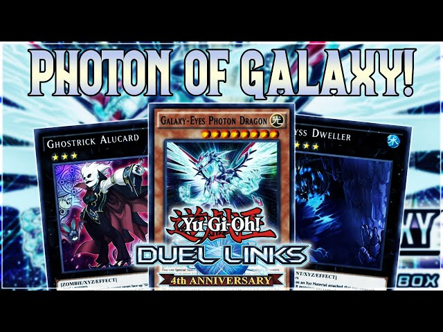 Yu-Gi-Oh! Duel Links   NEW BOX Photon of Galaxy REVIEW! ABYSS DWELLER! ONOMAT! GALAXY-EYES & MORE!