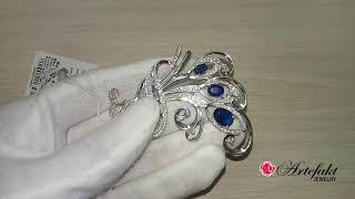 Обзор серебряной броши Artefakt Jewelry арт 640