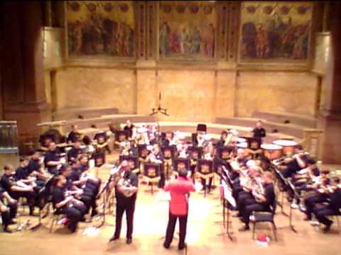 Benedictus (Jenkins) Aaron VanderWeele, Princeton Brass Band/Allen