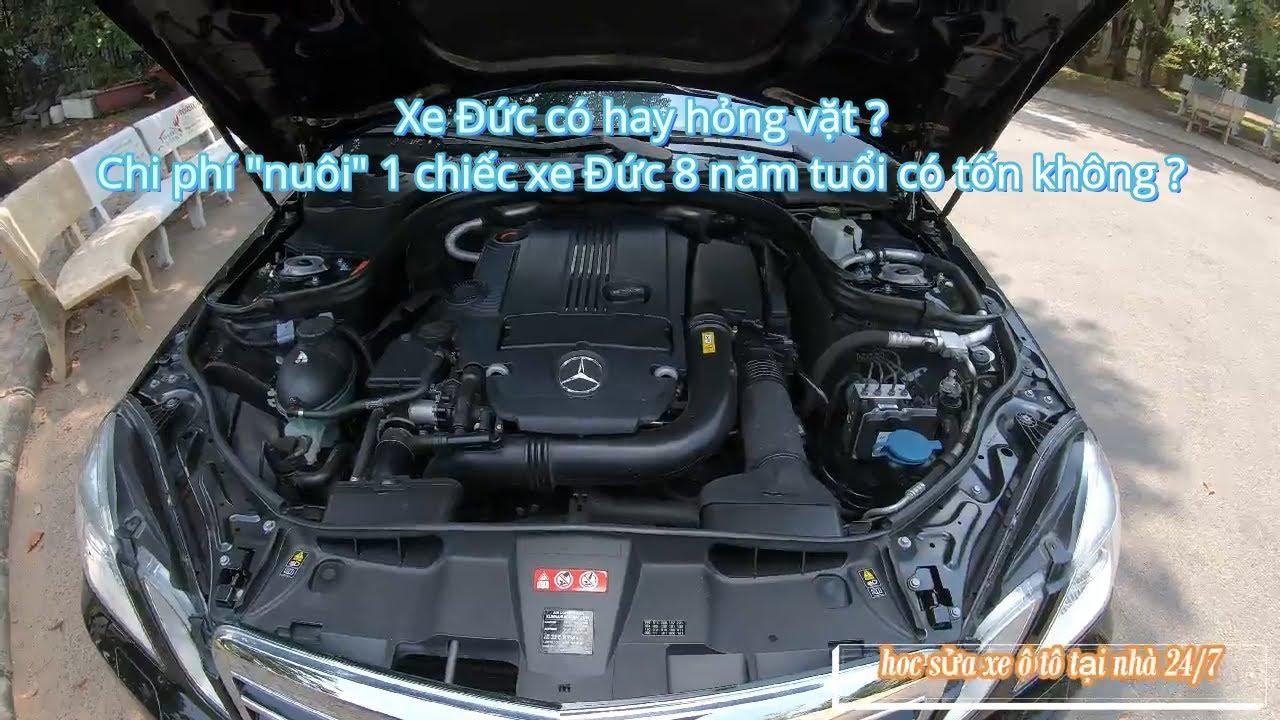 Trải nghiệm chiếc Mercedes-Benz E250 8 năm tuổi.