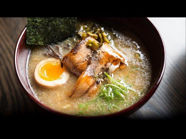 Making Tonkotsu Ramen with Japanese Master Chef Morimoto - New Day Northwest - YouTube