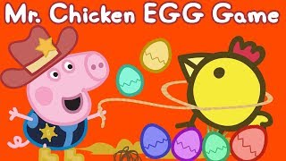 Peppa Pig App | Mr Chicken Game | Surprise Eggs | Game for Kids