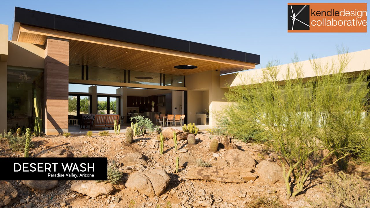 Architecture spotlight 77 desert wash by kendle design collaborative paradise valley - Villa decor desert o architecture ...