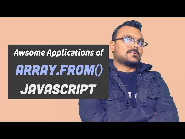 Array.from  Method in JavaScript