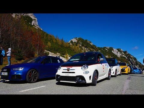 Petrol Maniacs Roadtrip with 70+ sports cars around Slovenia 2017