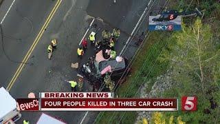 4 Killed In Head-On Crash