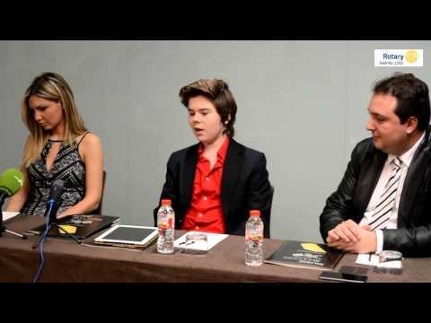 Rueda de prensa de presentación del Gran Concierto de Sant Jordi en Barcelona