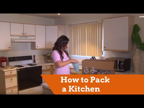 How to Pack a Kitchen