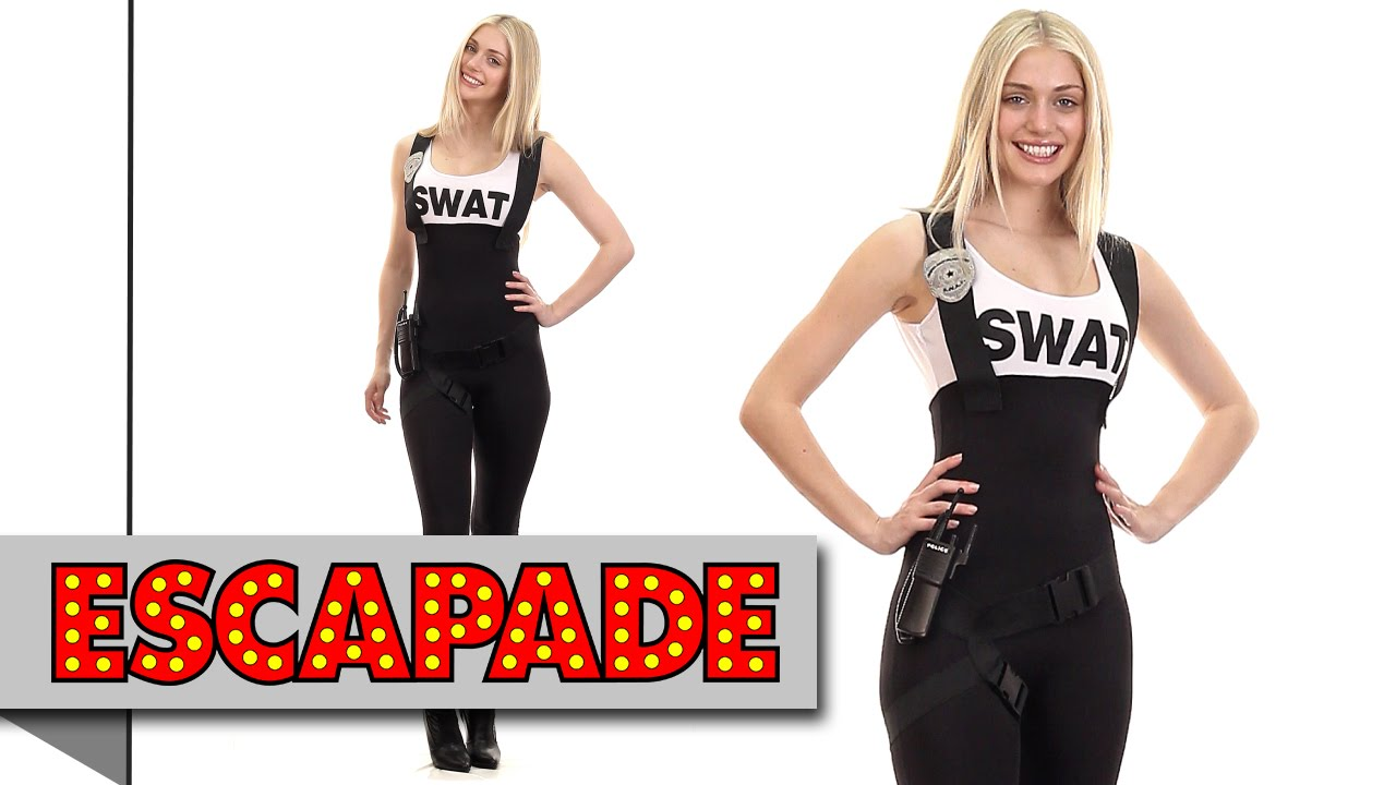 sc 1 st  YouTube & Sexy SWAT Bombshell Costume - Fancy Dress Costume Ideas - YouTube
