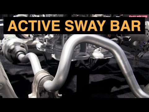 Active Sway Bar Suspension - Explained