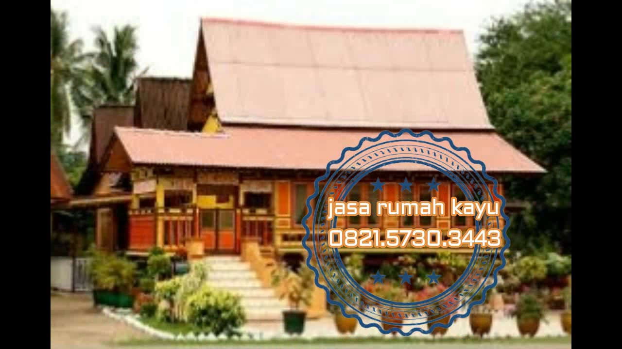 0821 5730 3443 Rumah Kayu Pasang Siap Dari Indonesia