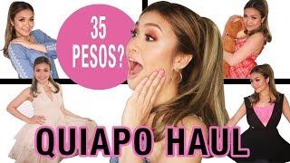 QUIAPO UKAY UKAY HAUL   HIDALGO STREET  35 PESOS!   MRS. F