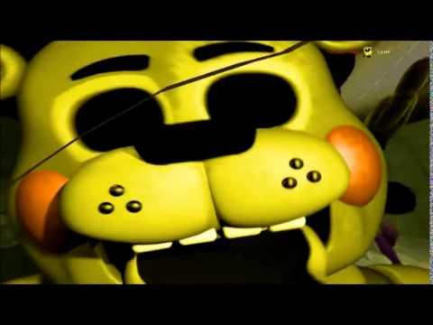 Fnaf 2 golden freddy jumpscare toy golden freddy jumpscare youtube