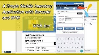 In this recorded webinar joe kraebel, a pts mobile solutions architect, creates ( no programming needed with tracerplus ) basic inventory applicatio...